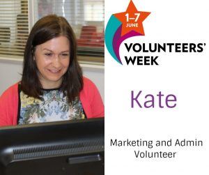 kate volunteer week
