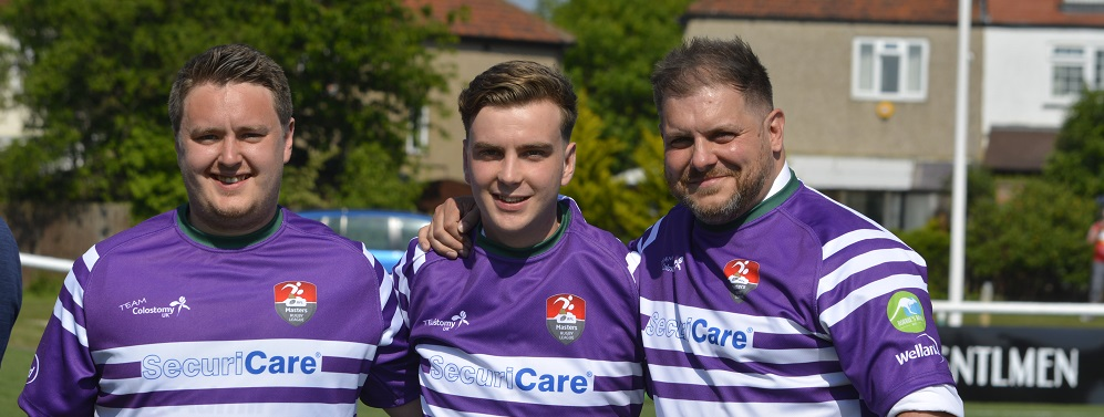 Team Colostomy UK Rugby League update