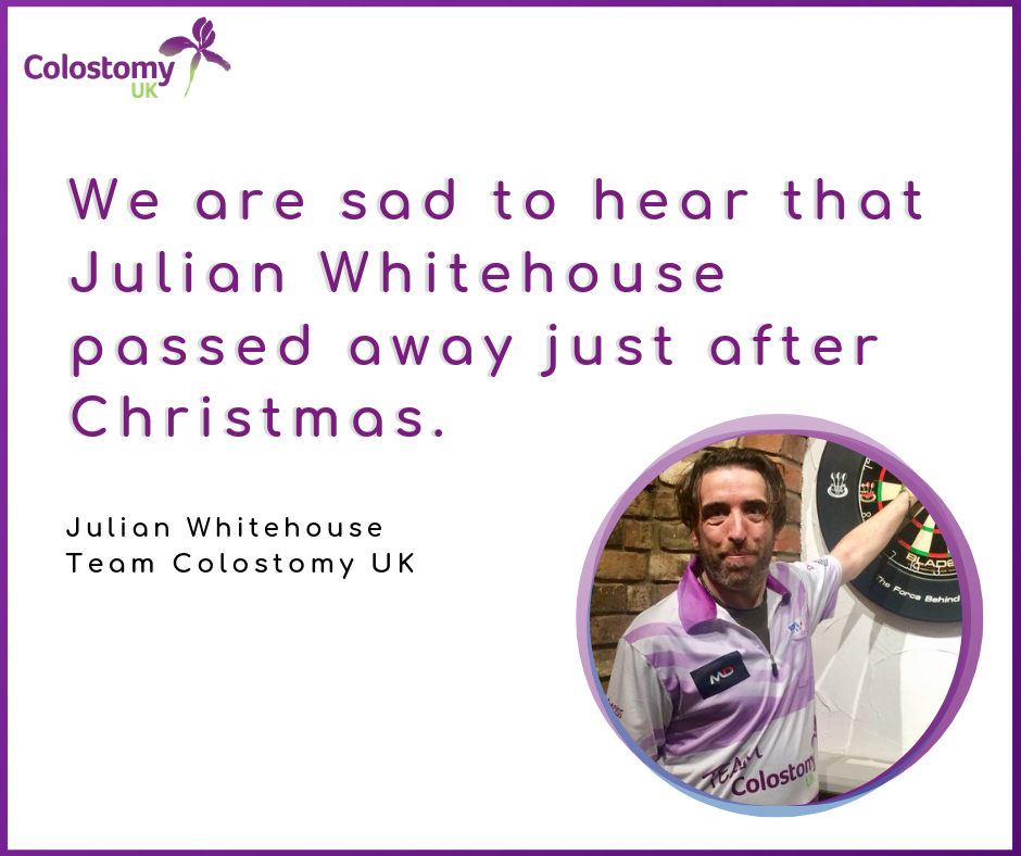 colostomy uk : julian whitehouse