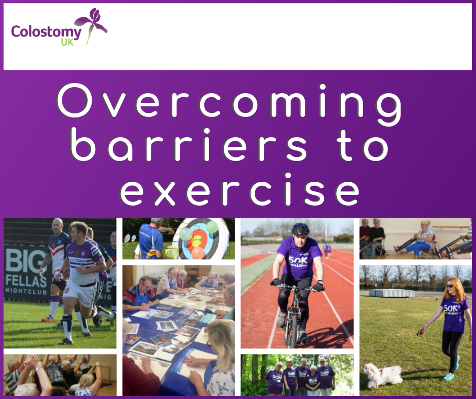colostomy uk: overcoming barriers to excercise
