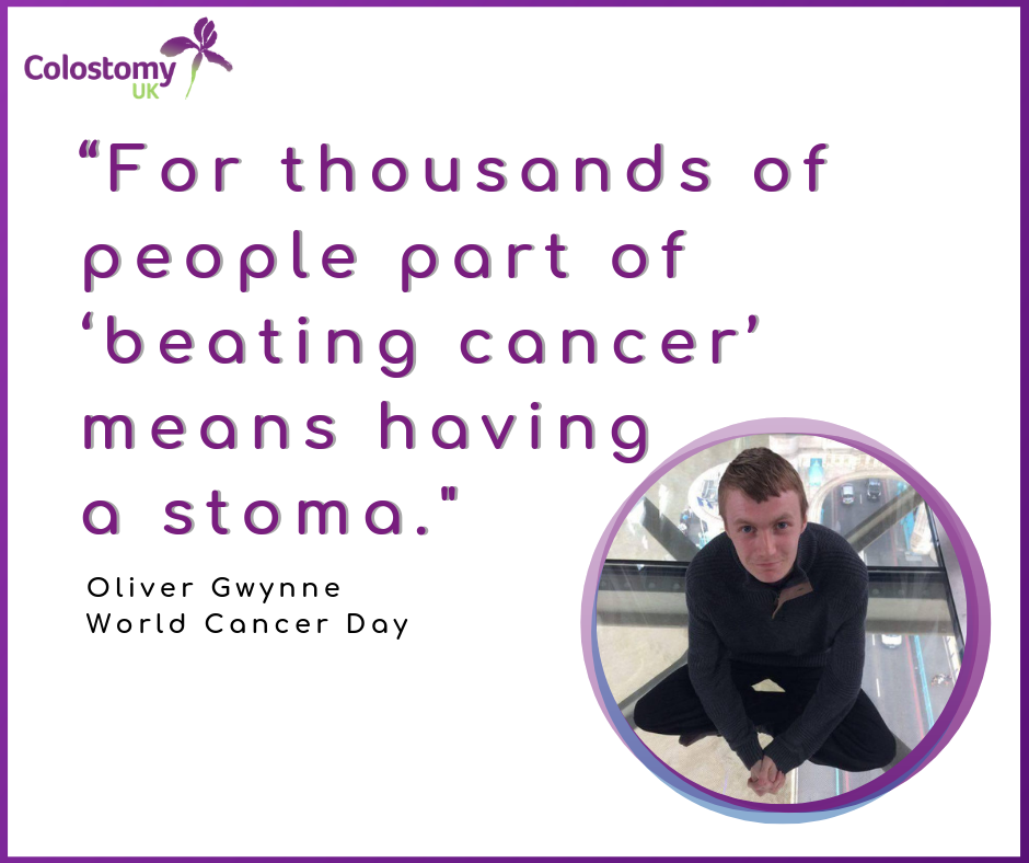 Colostomy UK : world cancer day