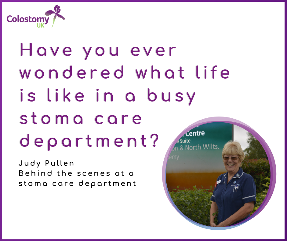 Behind the scenes at a stoma care department