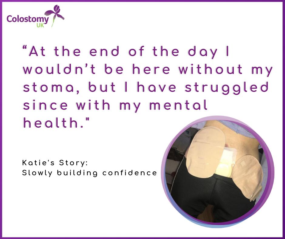 Colostomy UK: slowly building confidence