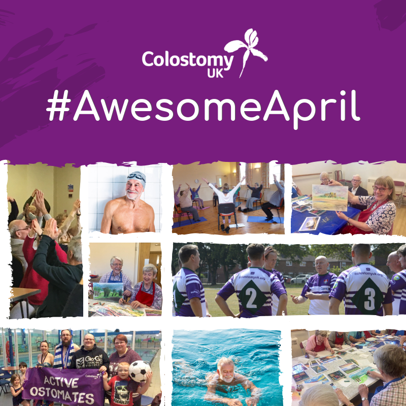 colostomy uk awesome april