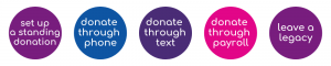 donation option colostomy uk