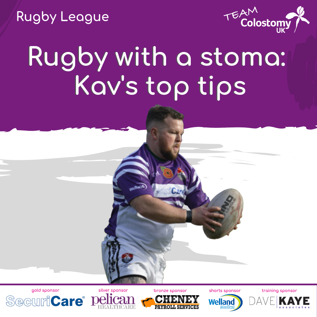 Colostomy UK: rugby with a stoma