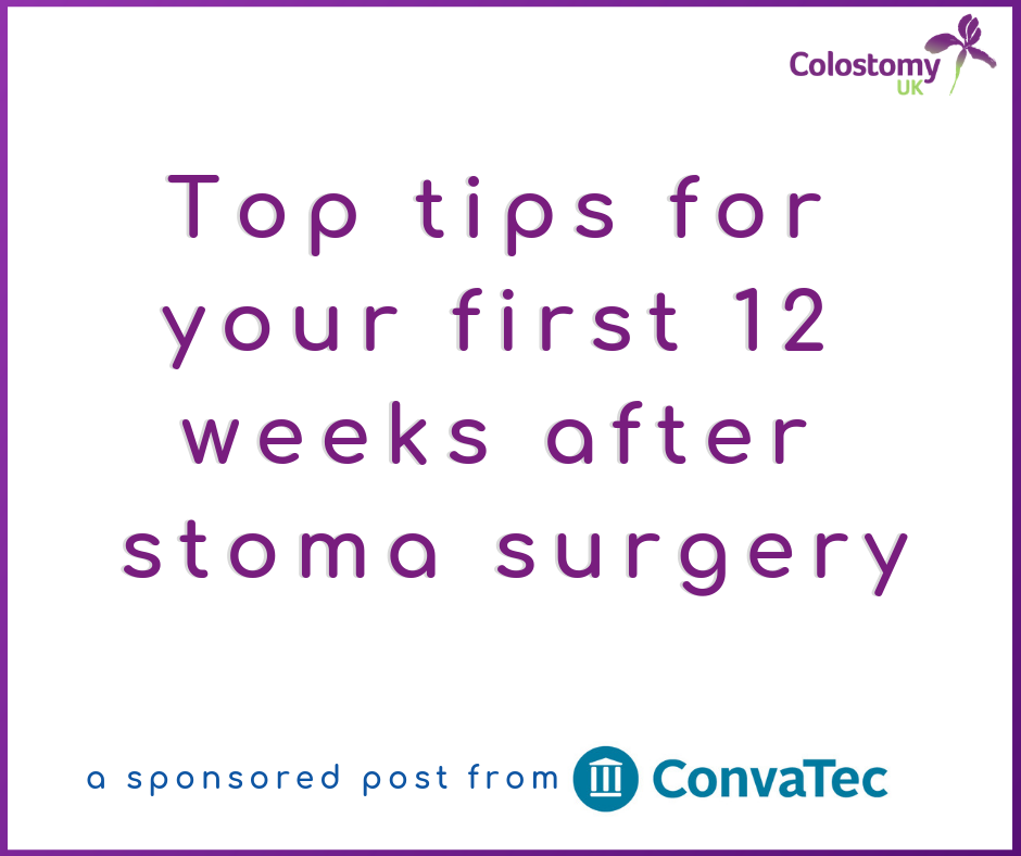 Top tips for your first 12 weeks after stoma surgery