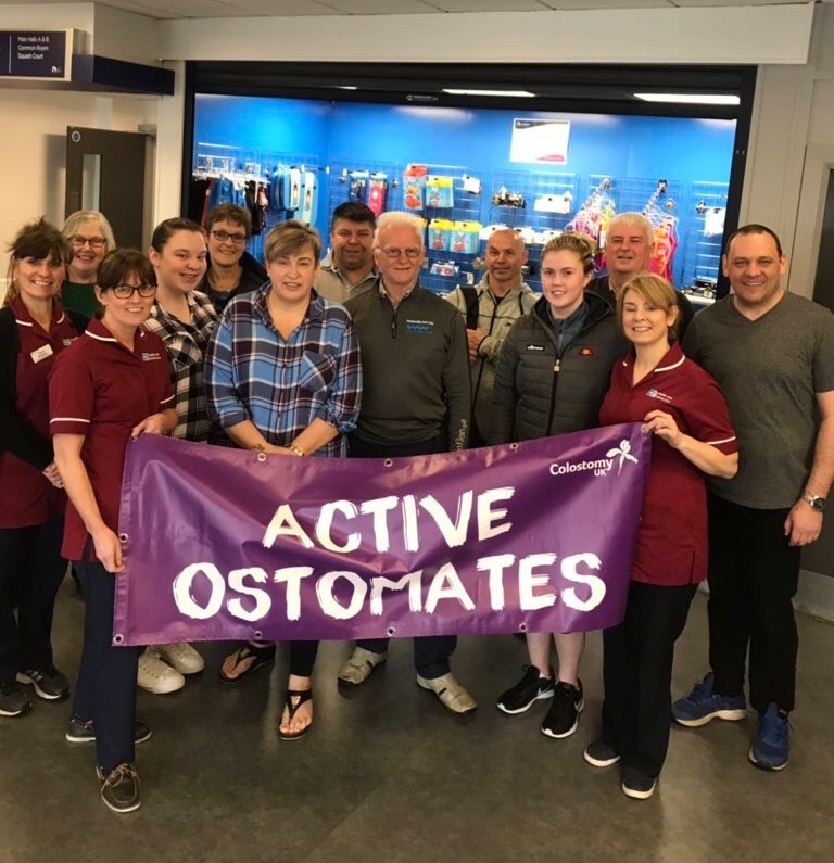 Leicester next for our Active Ostomates free swim