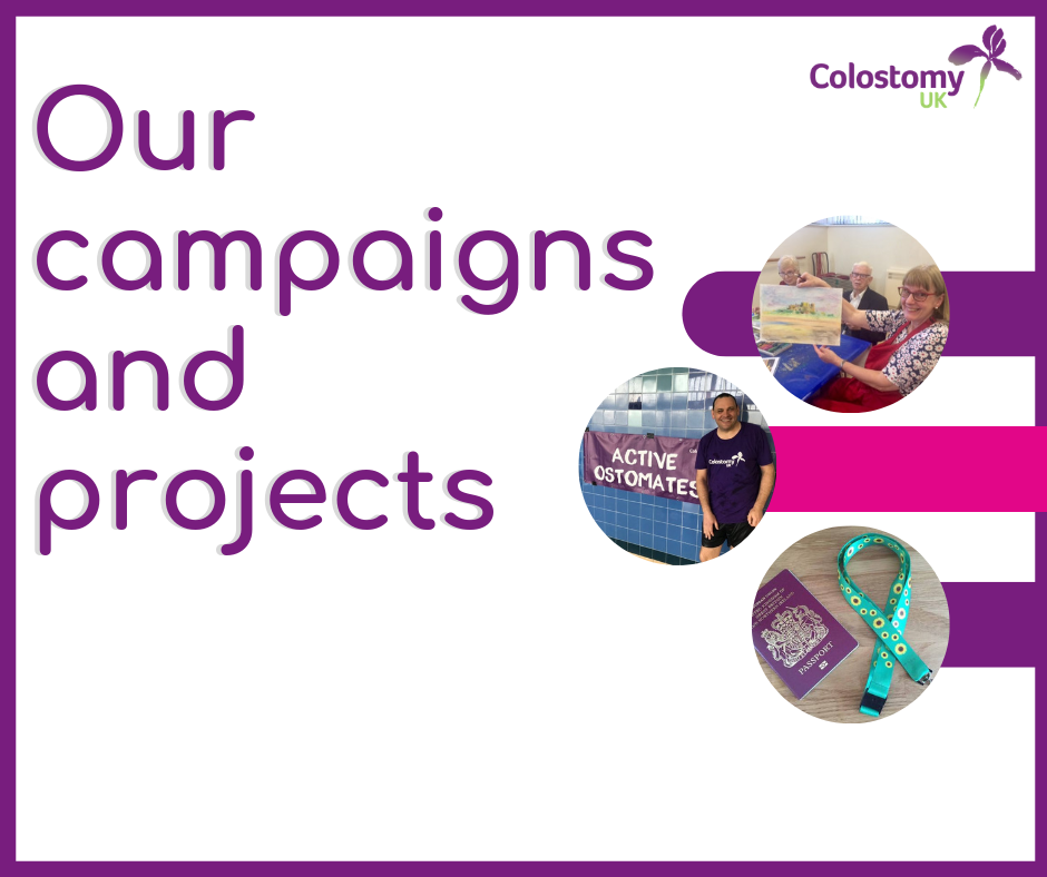 Colostomy UK: campaigns and projects