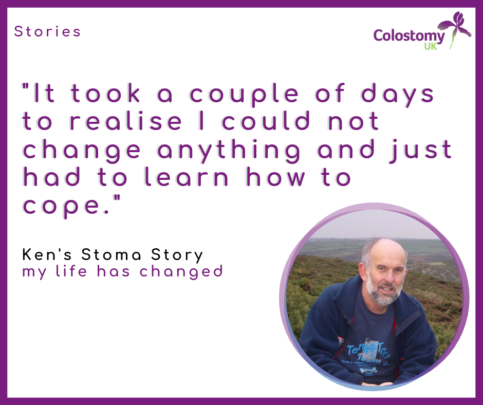 Ken's stoma story: my life has changed