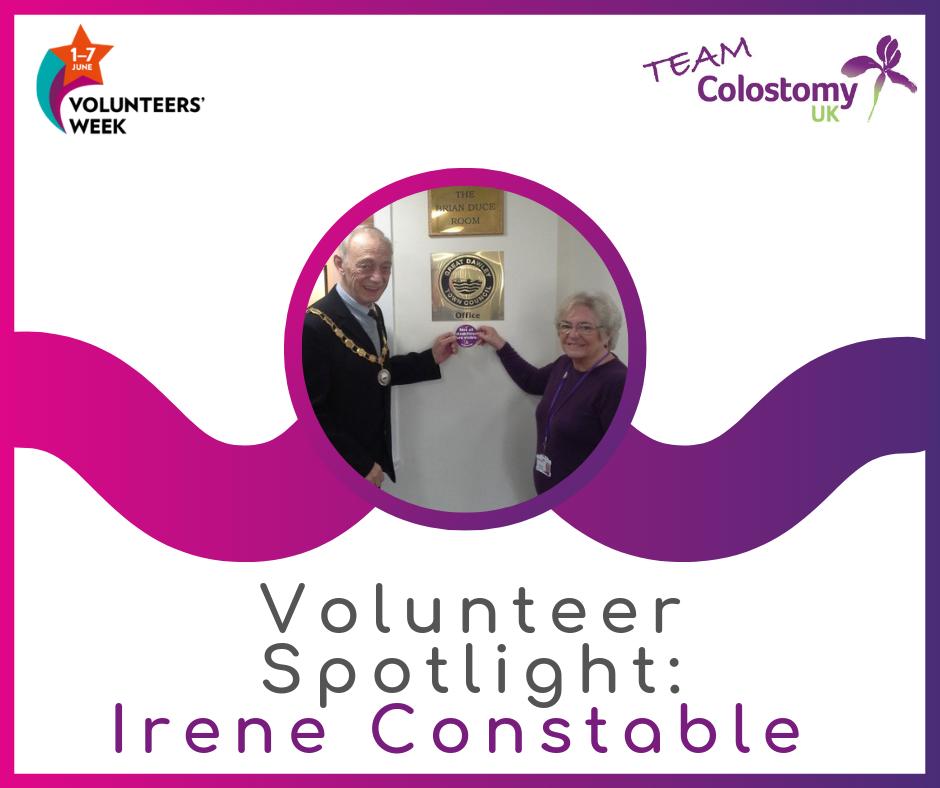 Volunteer Spotlight: Irene Constable