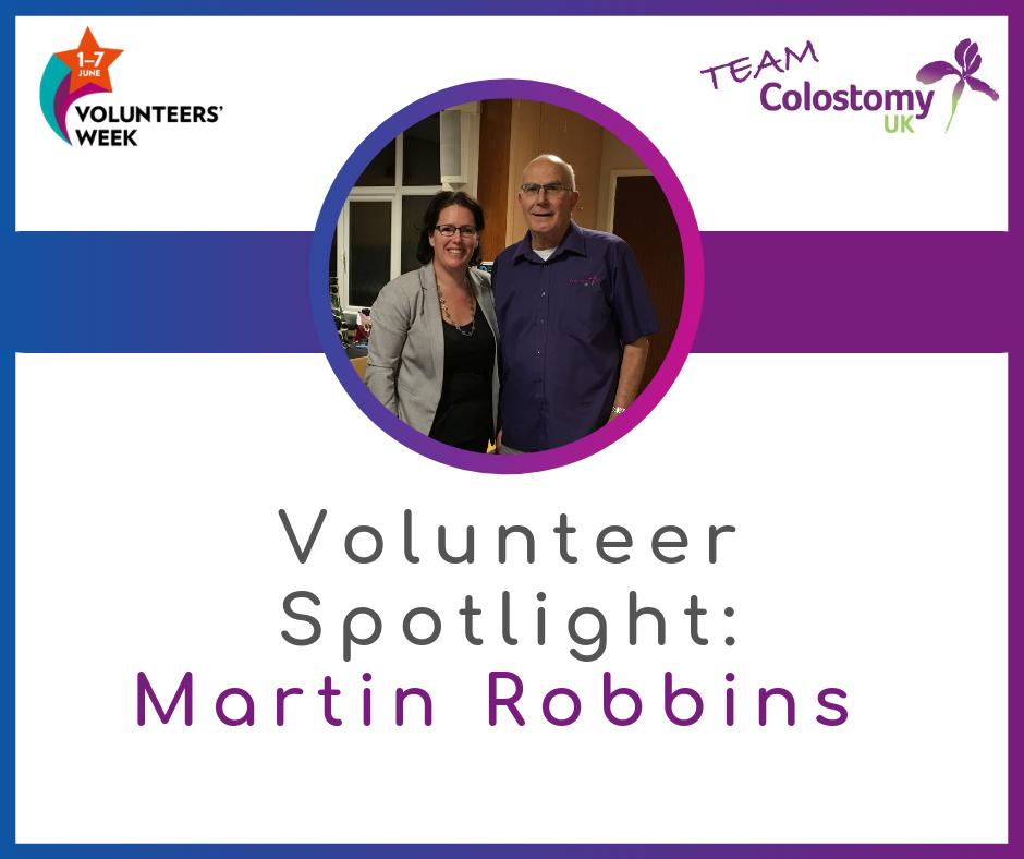 Volunteer Spotlight: Martin Robbins
