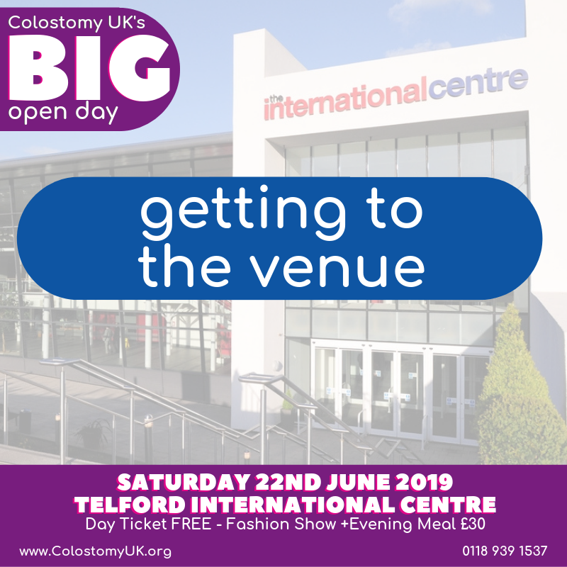 BIG open day – getting to the venue