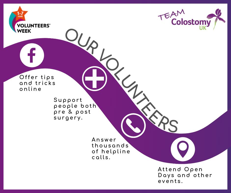 Colostomy UK: volunteers impact