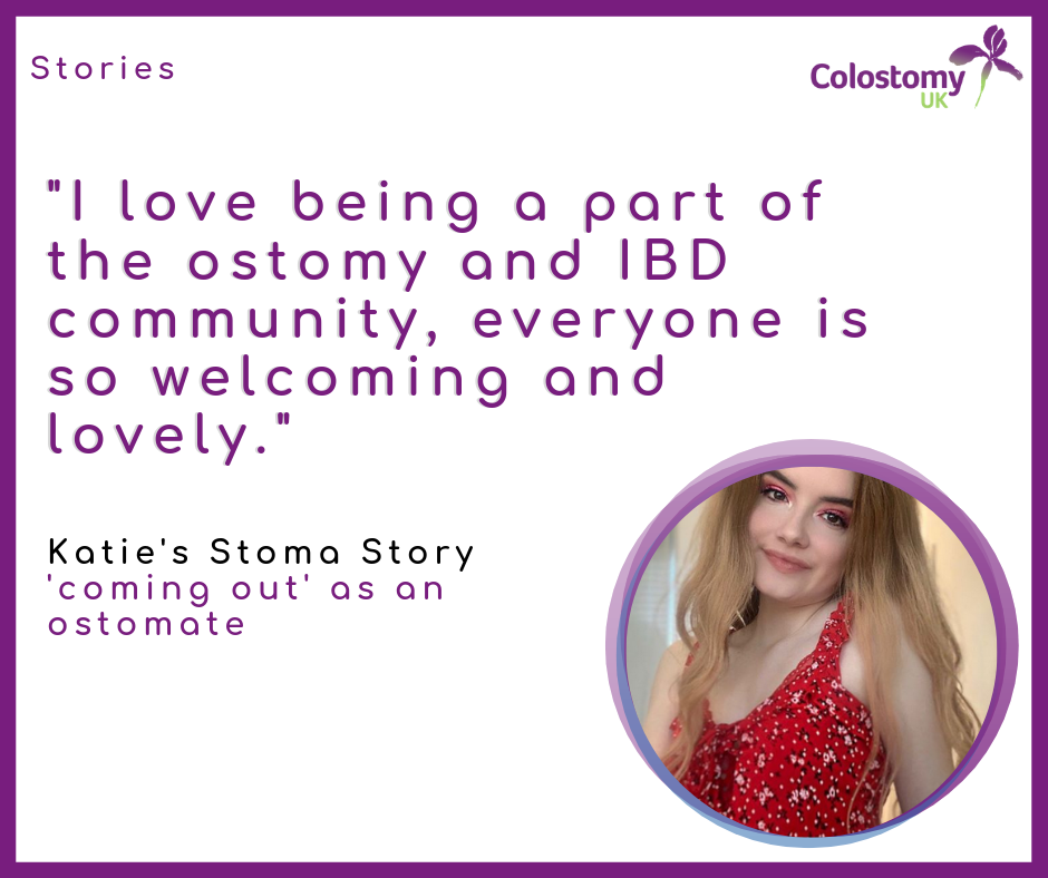 Katie's Stoma Story: 'coming out' as an ostomate