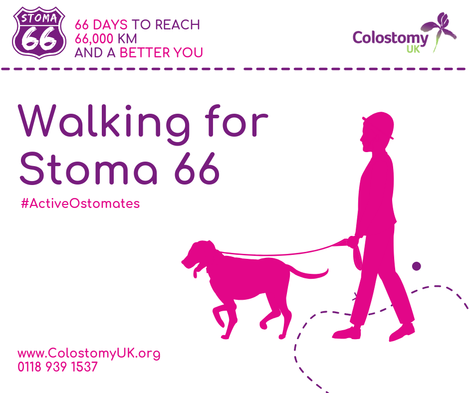 Colostomy UK walking for stoma 66