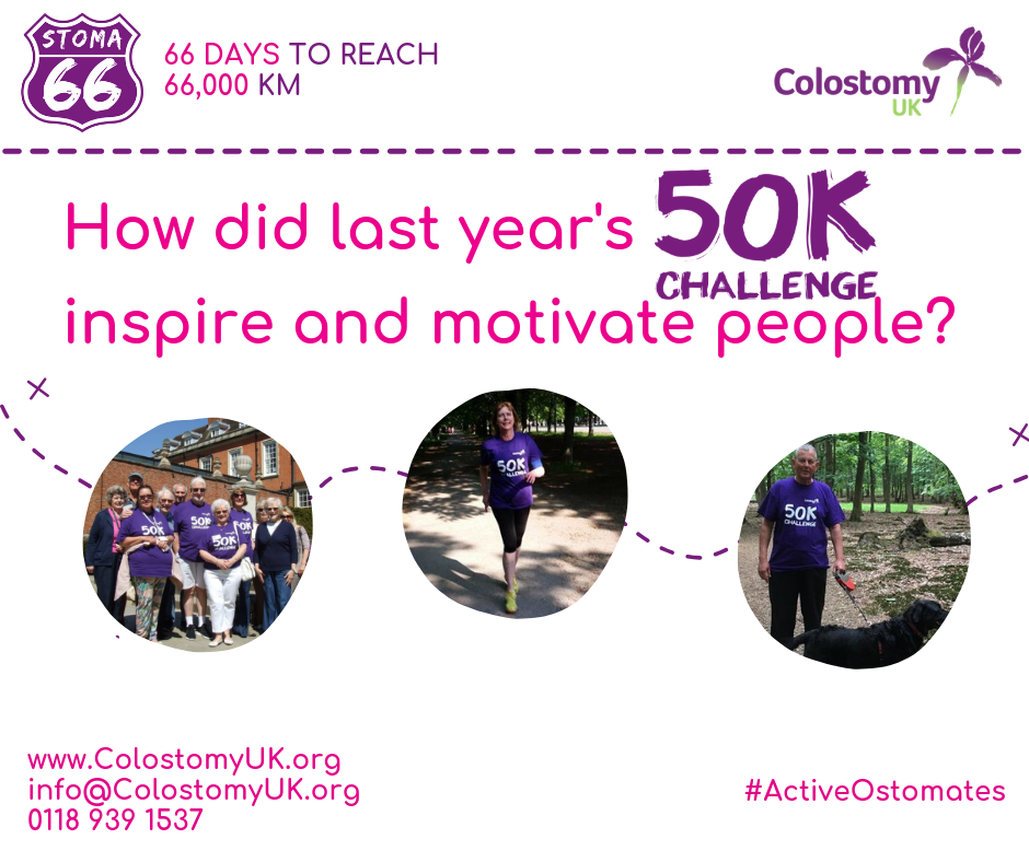Colostomy UK 50k challenge feedback