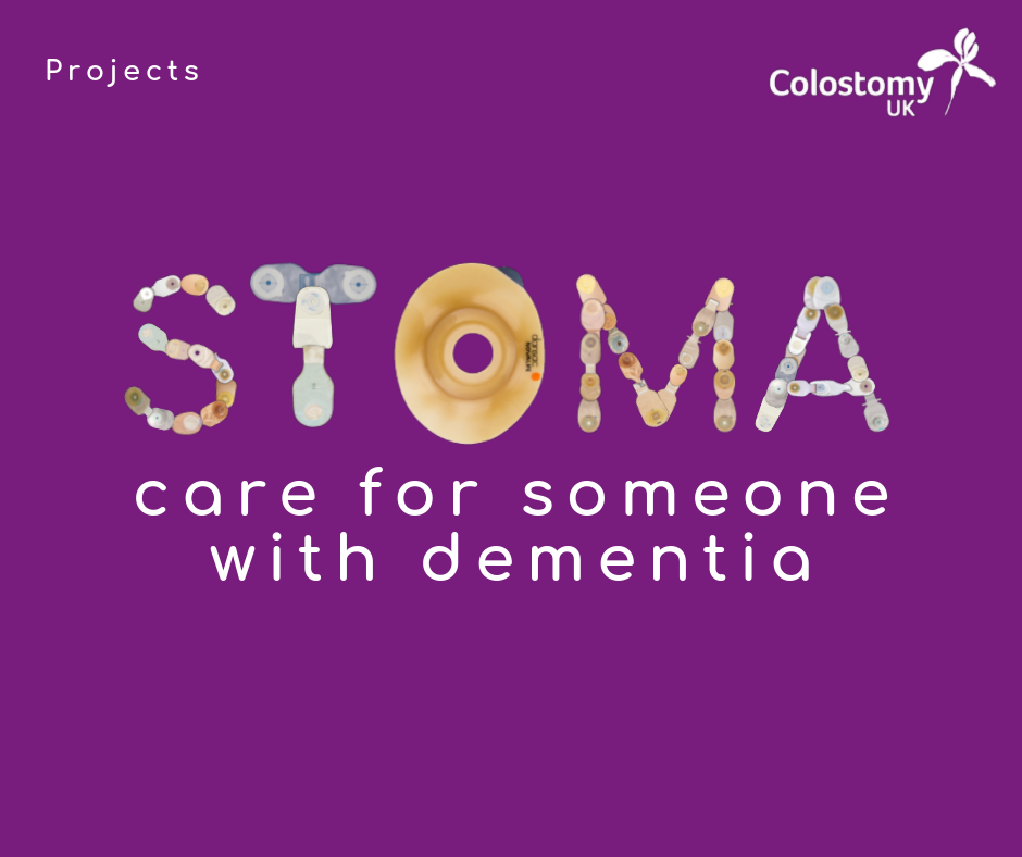 Caring for a person with a stoma and dementia