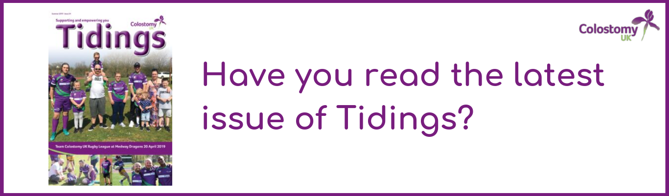 colostomy uk: tidings