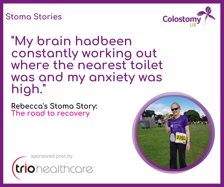 Rebecca's Stoma Story: The road to recovery