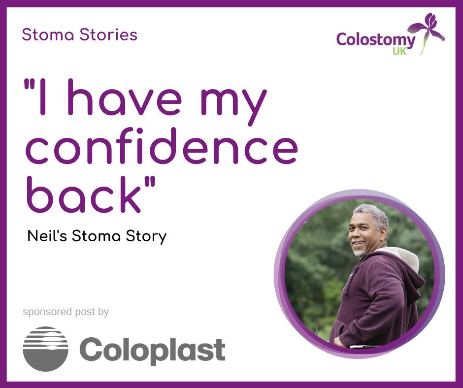 Neil's stoma story