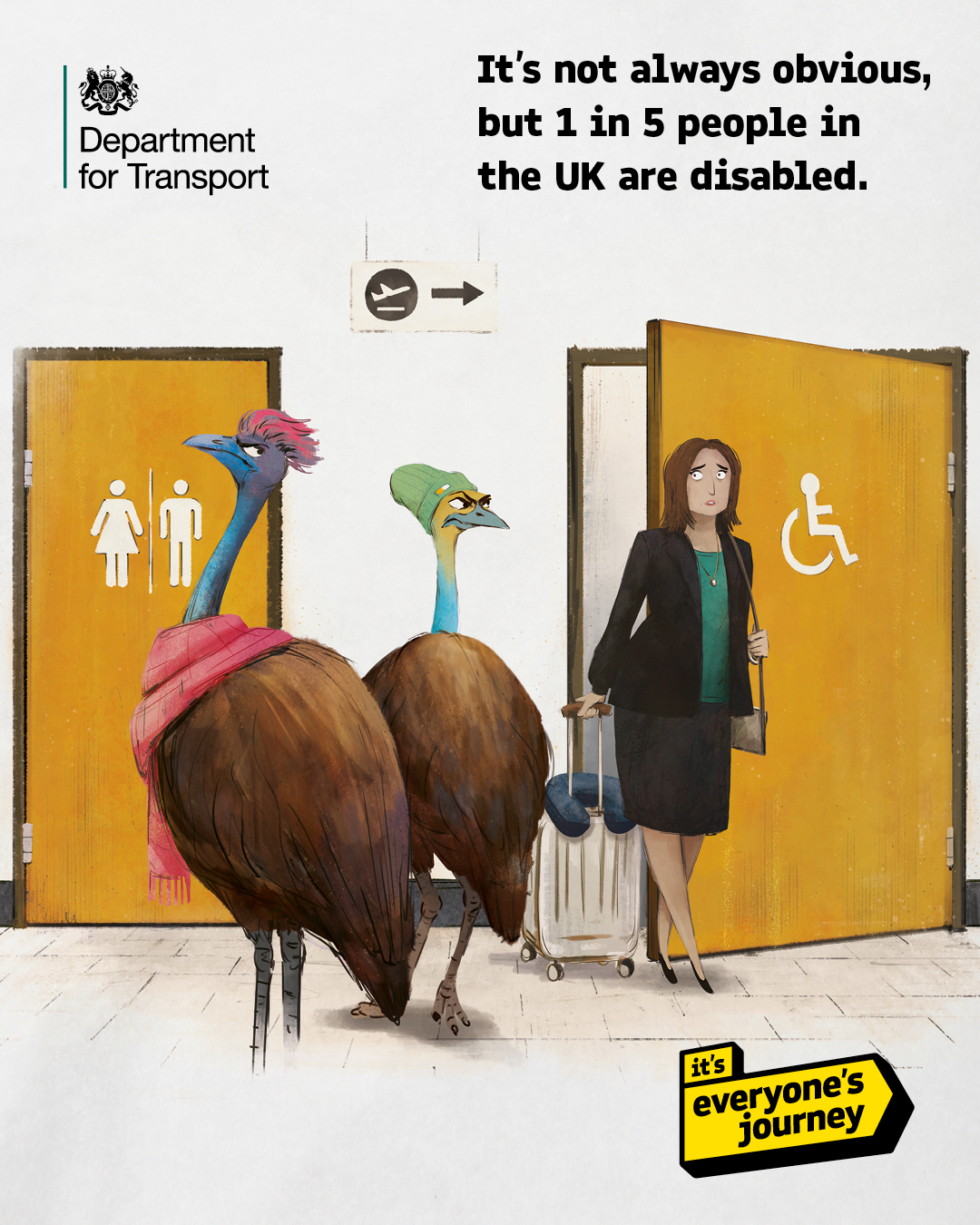 'it's everyone's journey' – making transport more inclusive