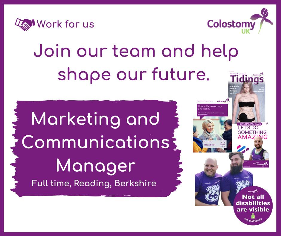Join our team. Marketing and Communications Manager