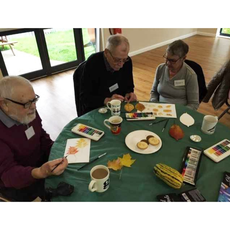 creative arts sessions for ostomate support groups