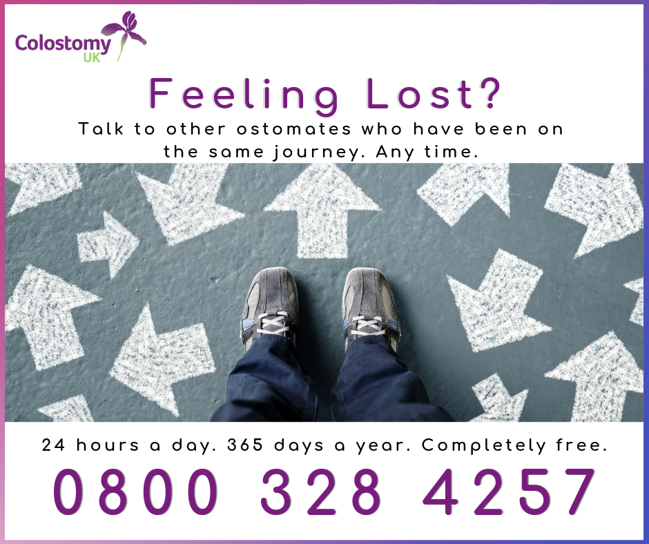 stoma support helpline 24/7