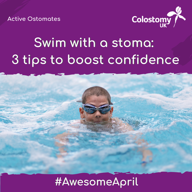 swim with a stoma: 3 tips to boost confidence