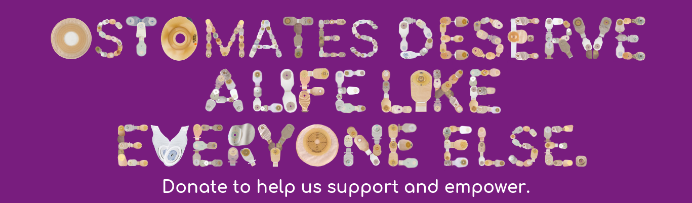 donate today colostomy uk
