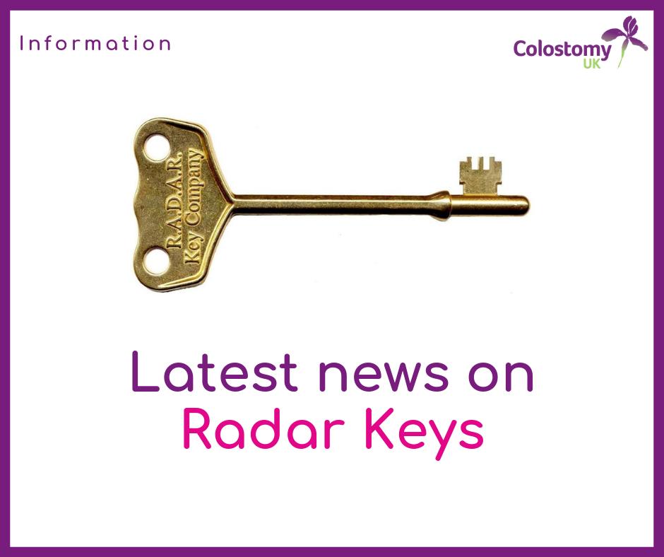 Colostomy UK: radar keys