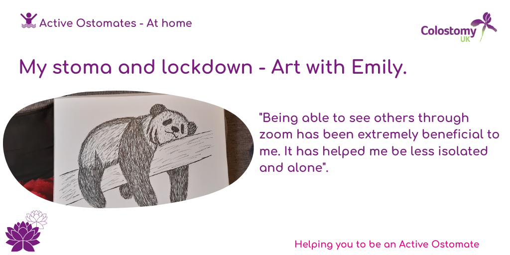 My Stoma and Lockdown – Art With Emily