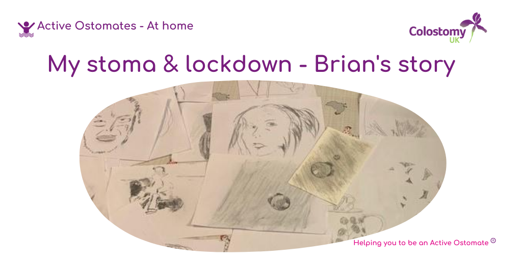 My stoma and lockdown – Drawing it out