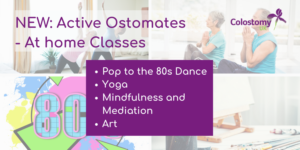 New Active Ostomates: at Home classes starting this month.