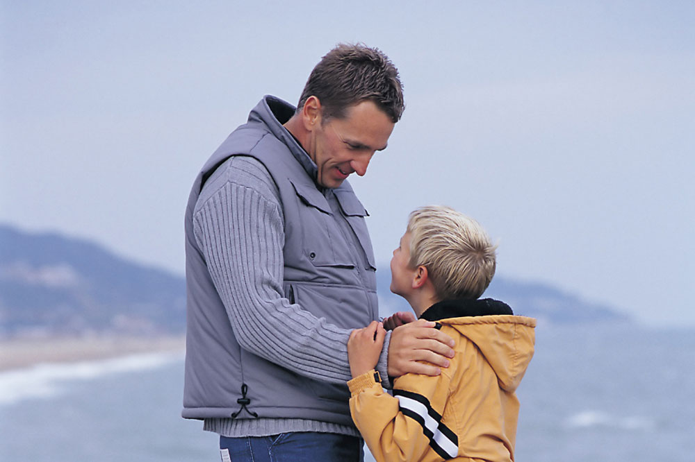 Talking to your children about your stoma
